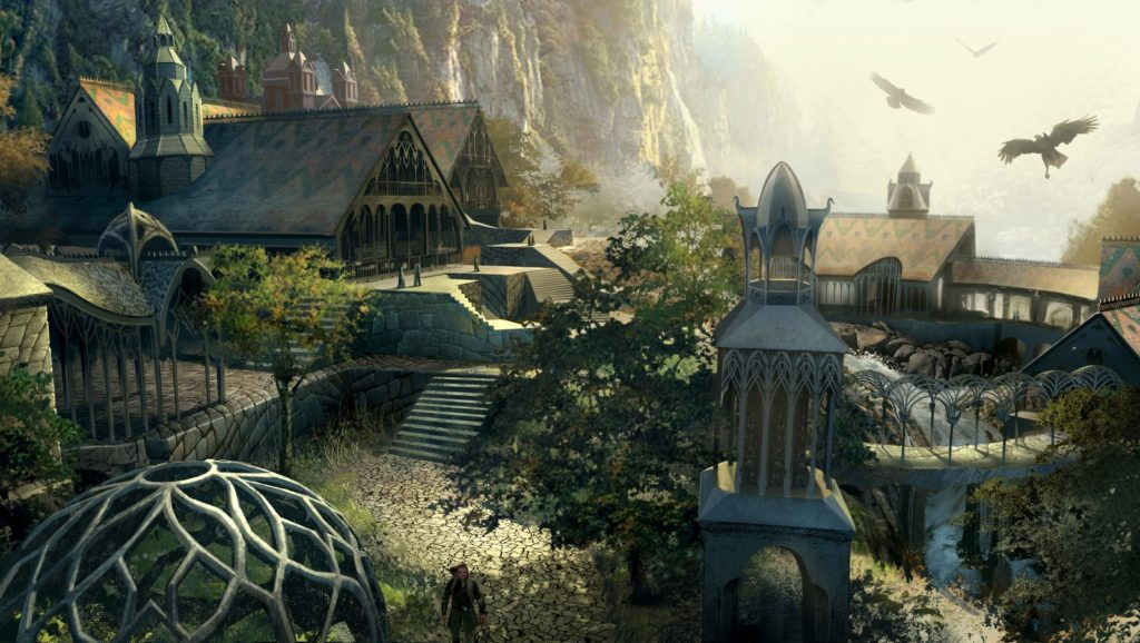 The Lord of the Rings: The White Council, concept art. (c) EA et al.