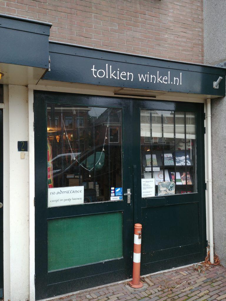 The Tolkien Shop/ Tolkien Winkel in Leiden (c) Marcel Aubron-Bülles