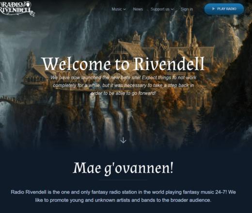 Radio Rivendell (c) Lord Elrond